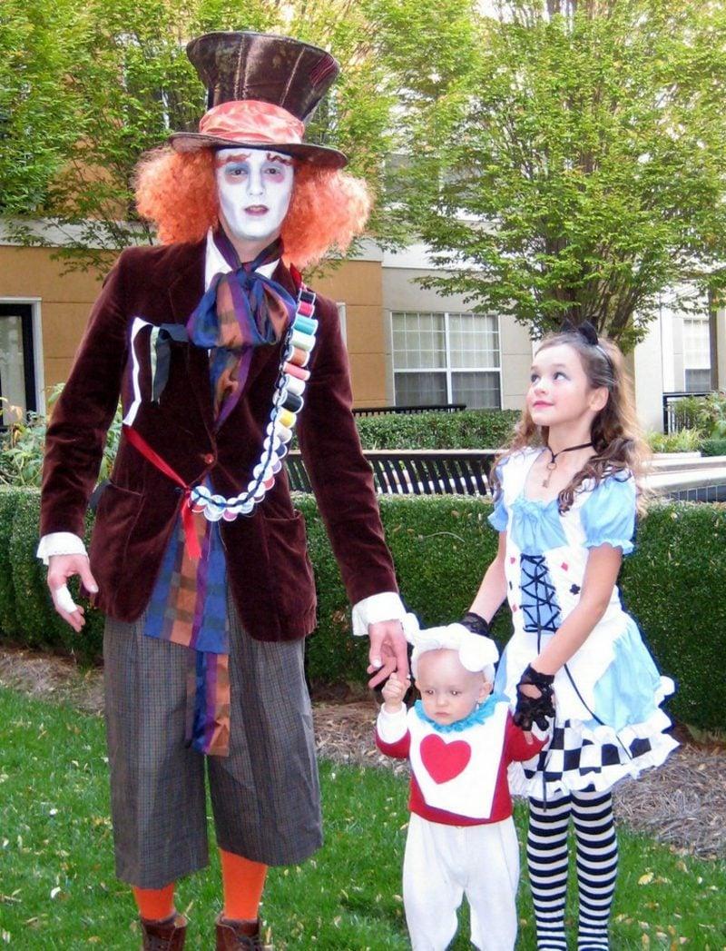 Alice im Wunderland Kostüm Mann Hutmacher