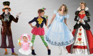Alice im Wunderland Kostüm Fasching tolle Ideen