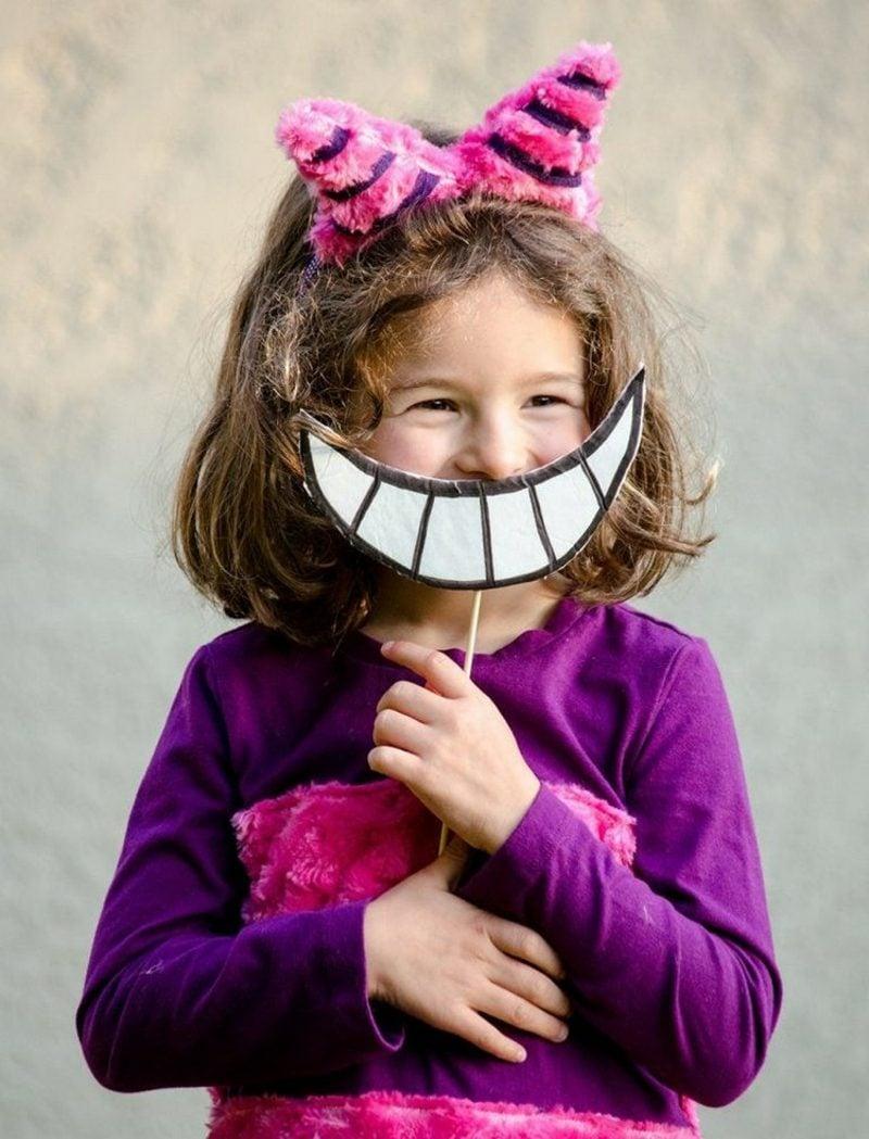 Alice im Wunderland Kostüm Grinsekatze Kleinkind