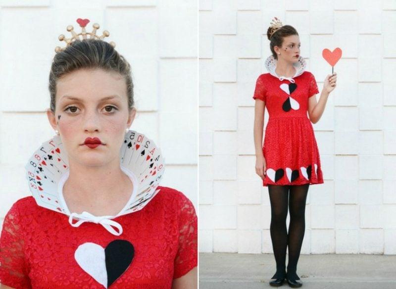 Alice im Wunderland Kostüm Herzdame