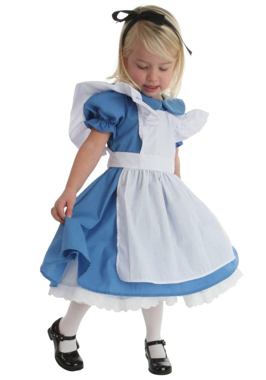 Alice im Wunderland Kostüm kleines Mädchen