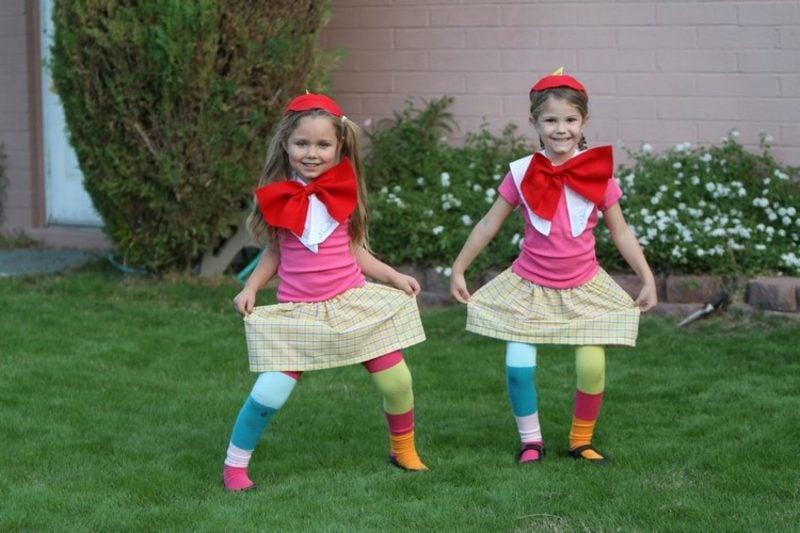 Alice im Wunderland Kostüm Zwillinge