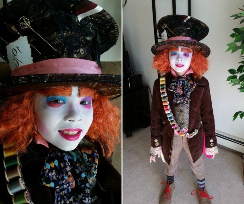 Alice im Wunderland Kostüm verrückter Hutmacher
