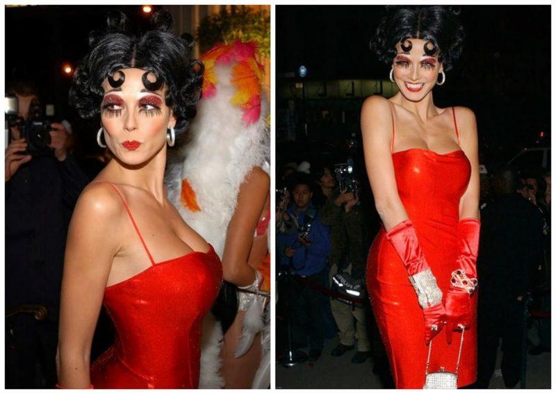 Halloween Kostüm Heidi Klum erstaunlich Betty Boop