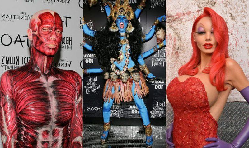 Halloween Kostüm Heidi Klum inspirierende Ideen