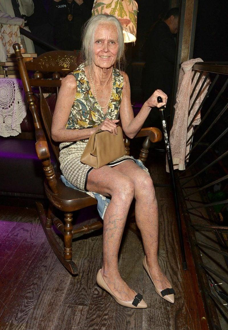 Halloween Kostüm Heidi Klum die 95 Jahre alt Heidi
