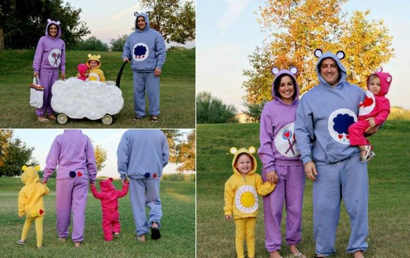 lustige Kostüme Glücksbärchen
