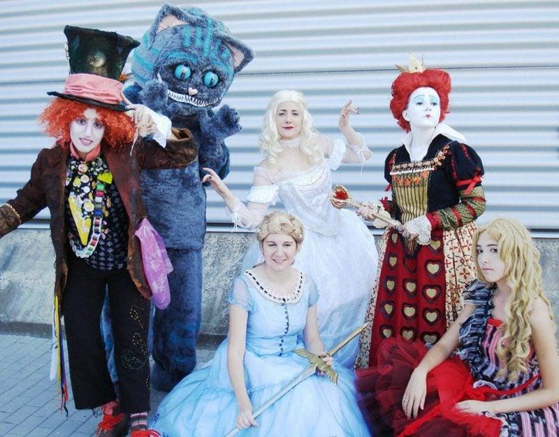 lustige Kostüme zum Karneval Alice im Wunderland