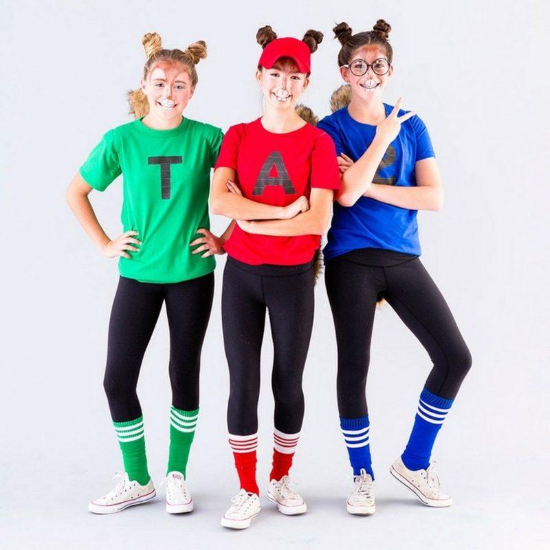 lustige Kostüme Alvin and the Chipmunks