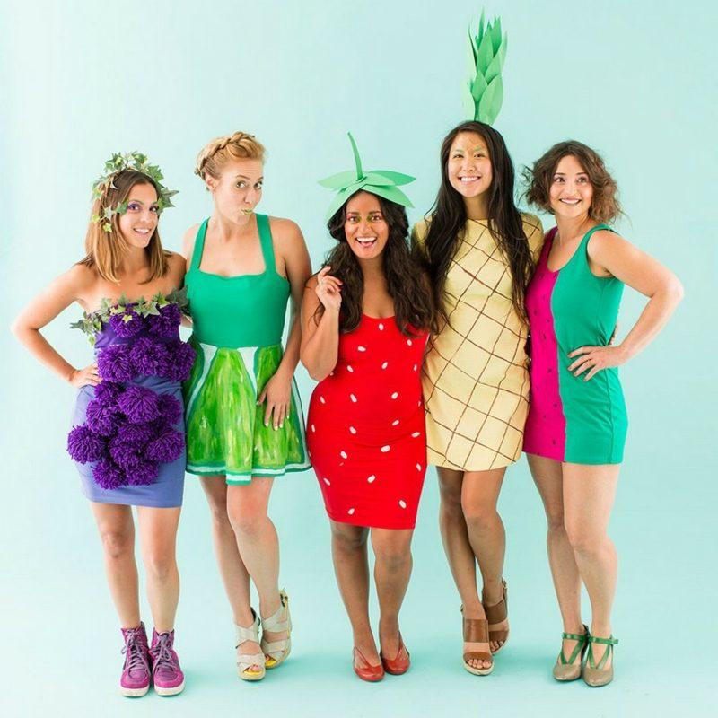 lustige Kostüme Früchte