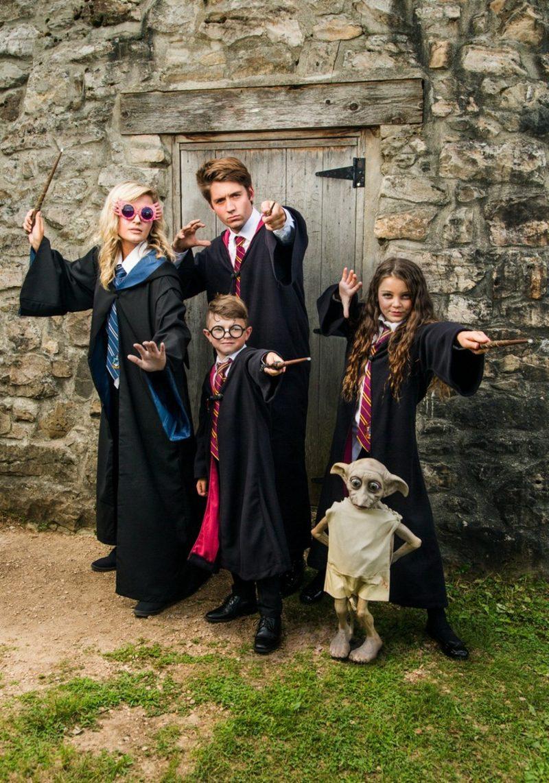 lustige Kostüme Zauberer Harry Potter