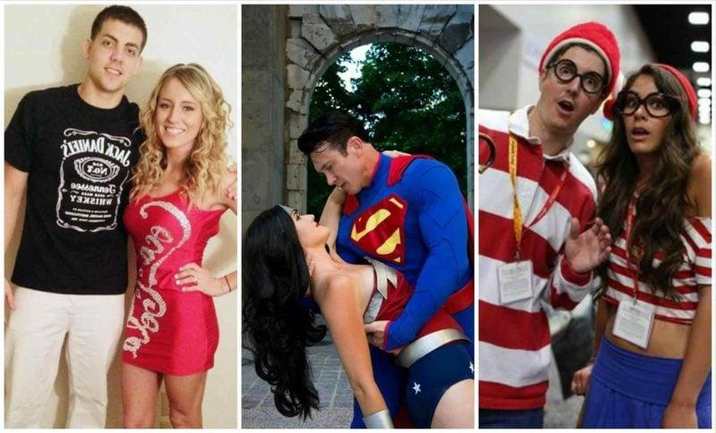 lustige Kostüme Ideen für Paare