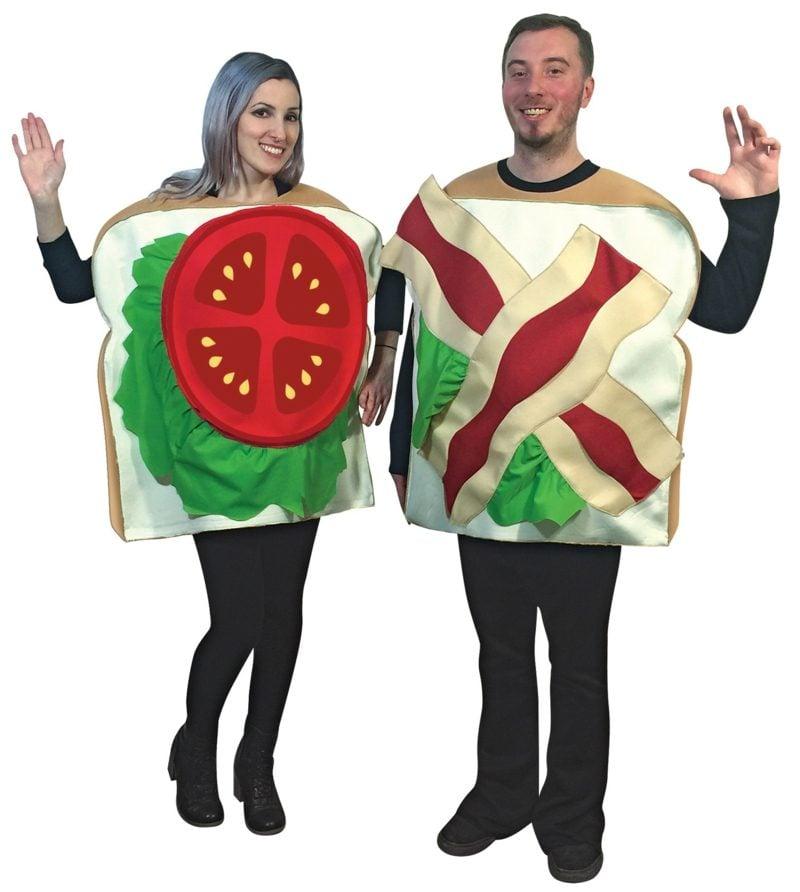 lustige Kostüme Sandwich