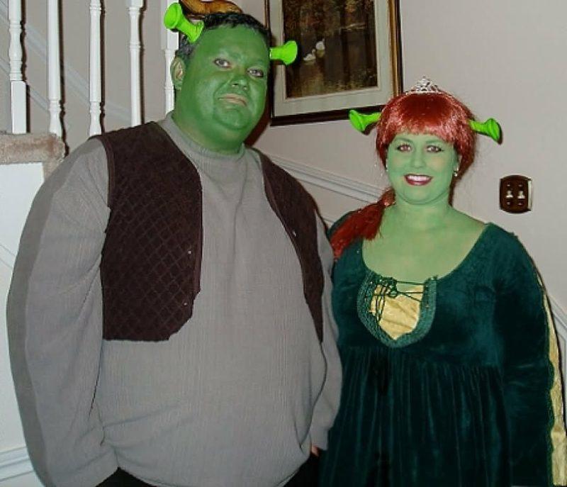 lustige Kostüme Shreck