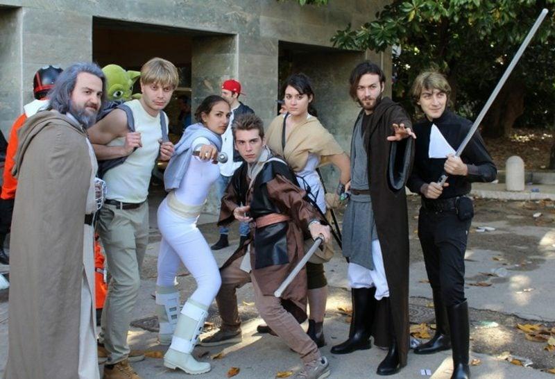 lustige Kostüme Star Wars