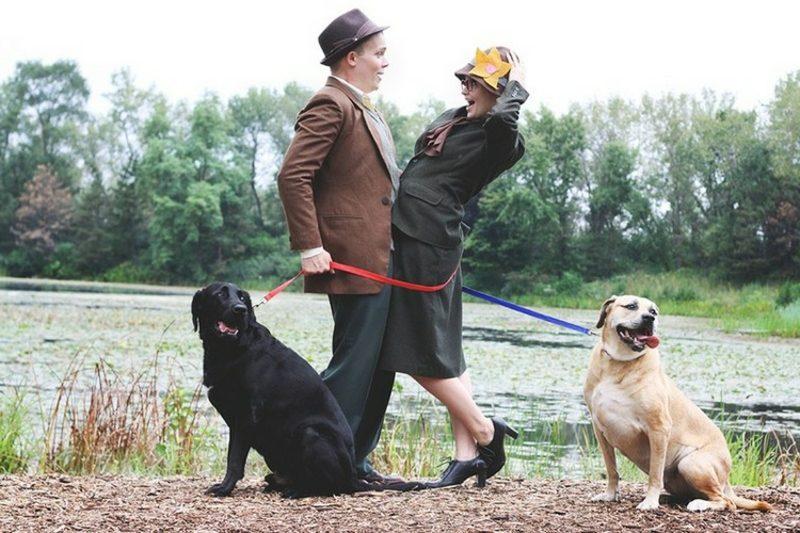 lustige Kostüme Anita und Roger 101 Dalmatiner