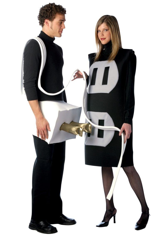 lustige Kostüme Steckdose und Stecker