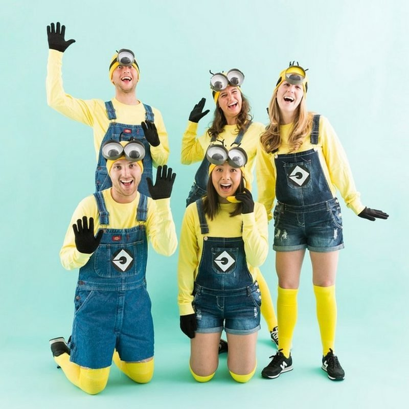 lustige Kostüme Minions