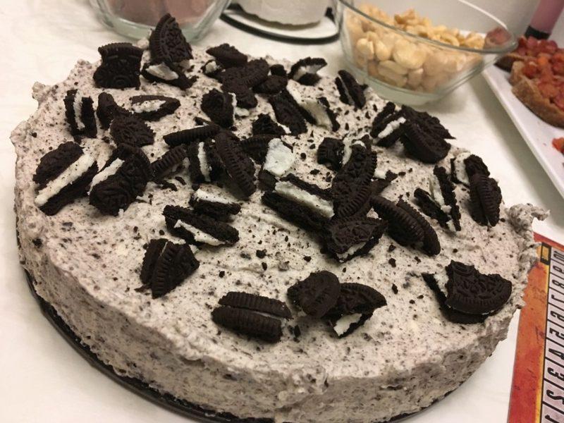 Oreo Kuchen ohne Backen mit Schokokuss Creme
