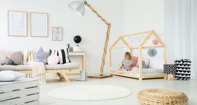 Kuschelecke Kinderzimmer gemütlich Kleinking