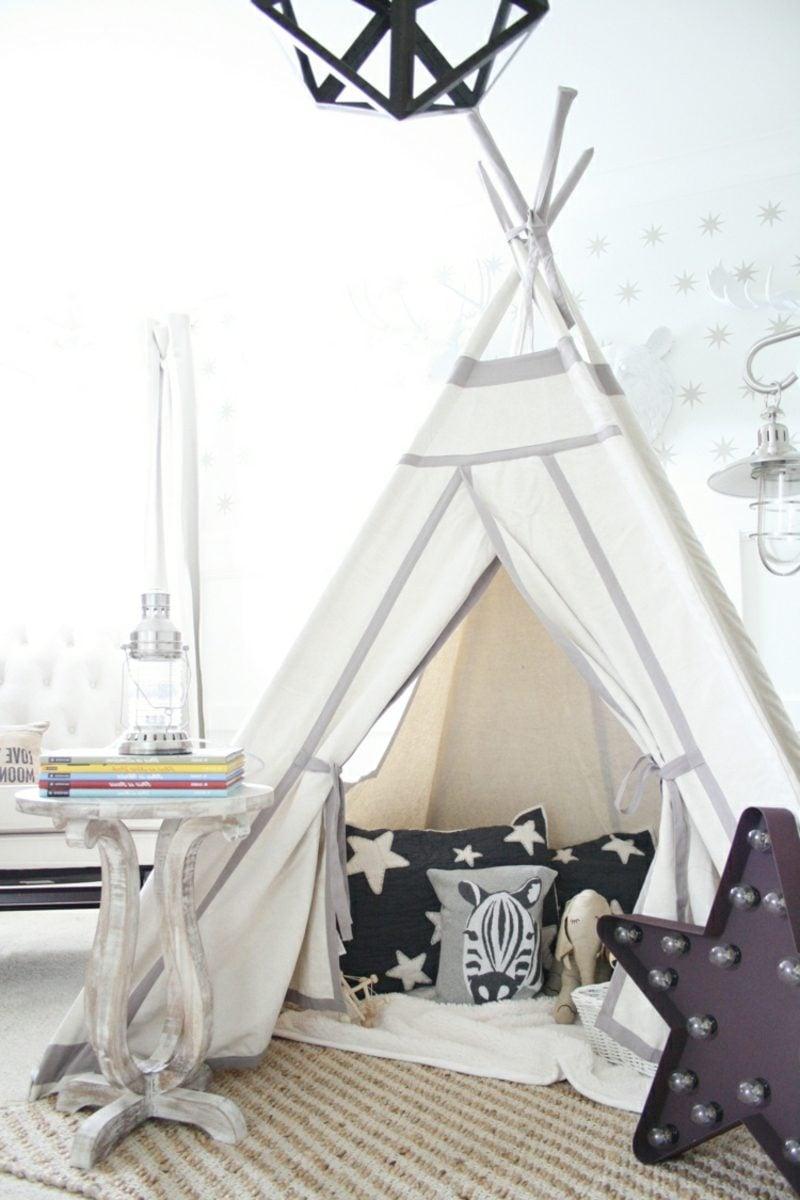 Kuschelecke Kinderzimmer Zelt selber machen