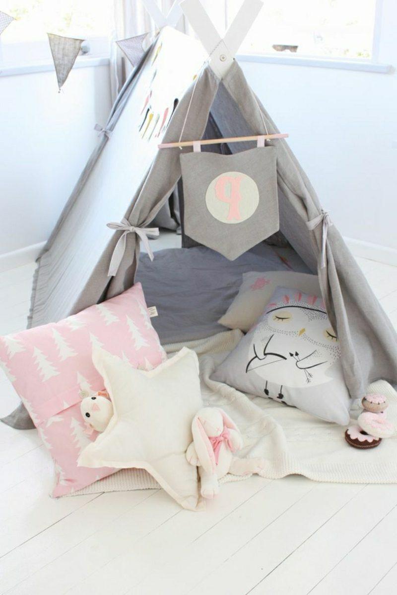 Kuschelecke Kinderzimmer Kleinkind DIY Zelt