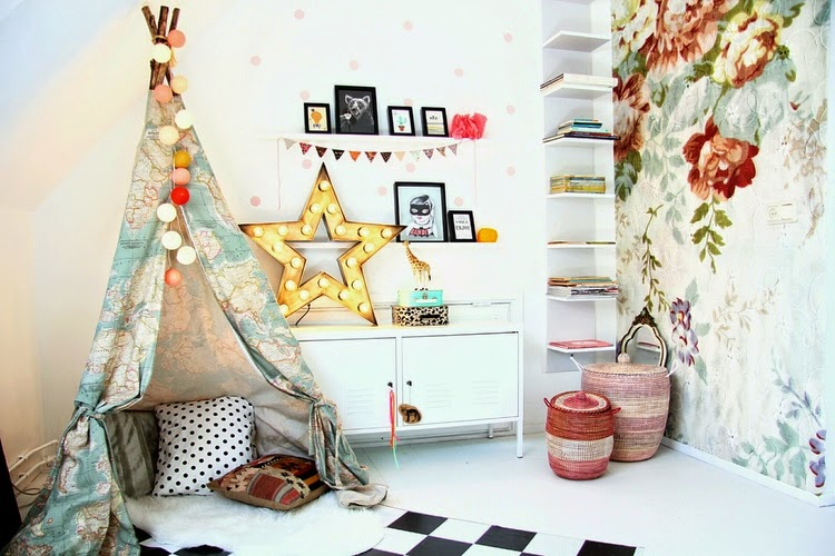 Kuschelecke Kinderzimmer Lesen Zelt