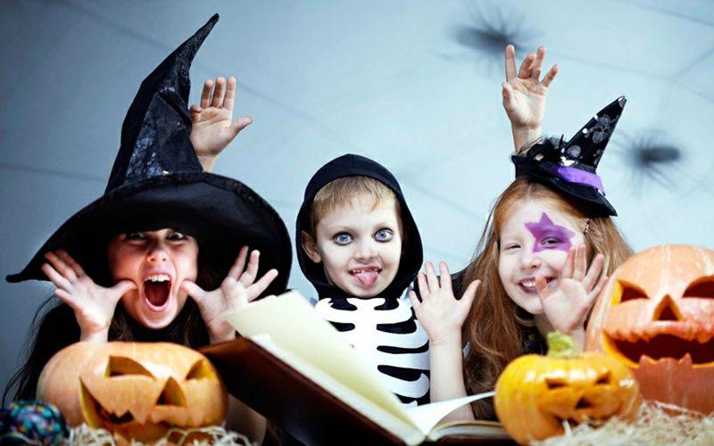 Halloween Schminken Kinder tolle Ideen zum Nachmachen