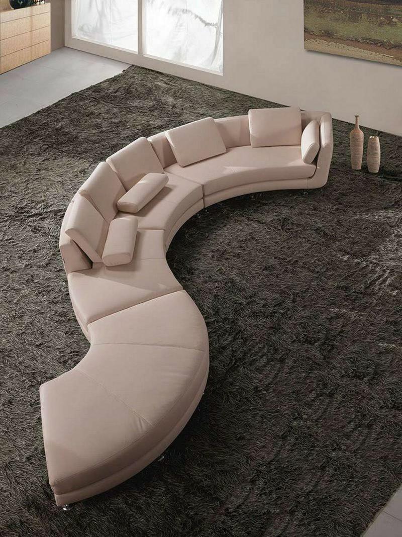 rundes Sofa S-Form mdular Wohnzimmer