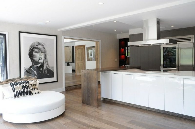 rundes Sofa klein praktisch Küche
