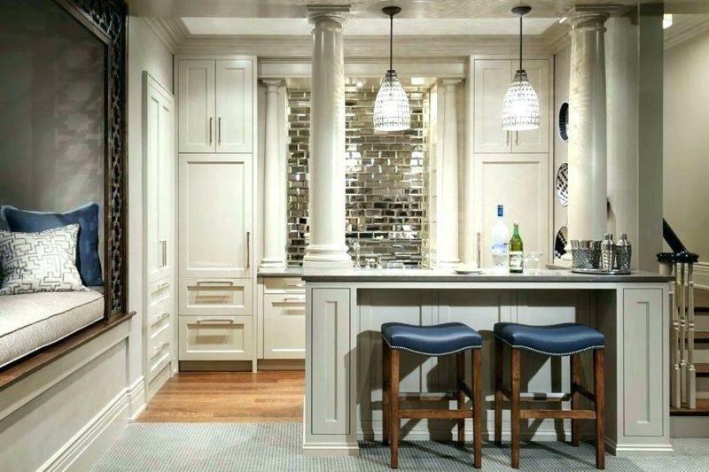 Spiegelfliesen Küche Landhausstil