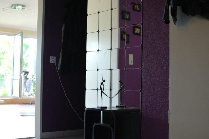 Spiegelfliesen effektvoll Flur