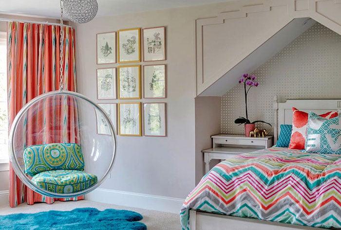 Teenager Zimmer einrichten Sessel originell