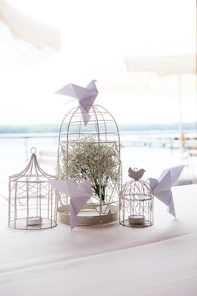 Bastelideen für Erwachsene Vogel falten Origami