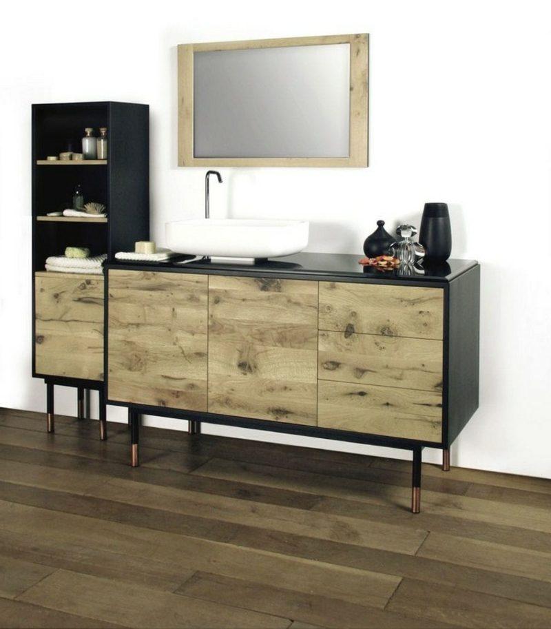 waschbecken mit unterschrank praktische ideen f r das badezimmer. Black Bedroom Furniture Sets. Home Design Ideas