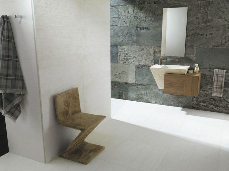Waschbecken mit Unterschrank klein minimalistisch schwebend