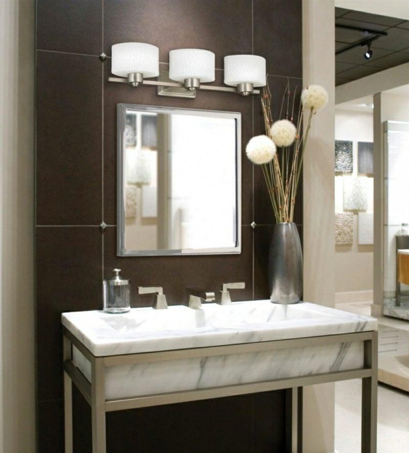 Waschbecken mit Unterschrank aus Marmor Luxus