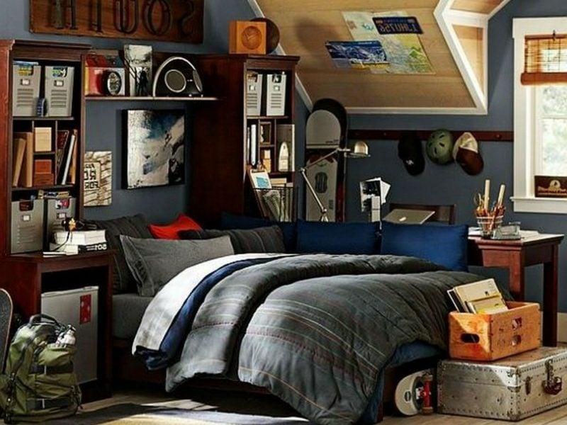Teenager Zimmer einrichten überladen gemütlich