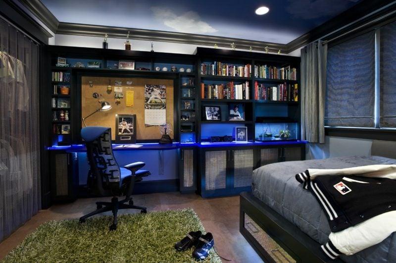 Teenager Zimmer einrichten indirekte LED Leuchten