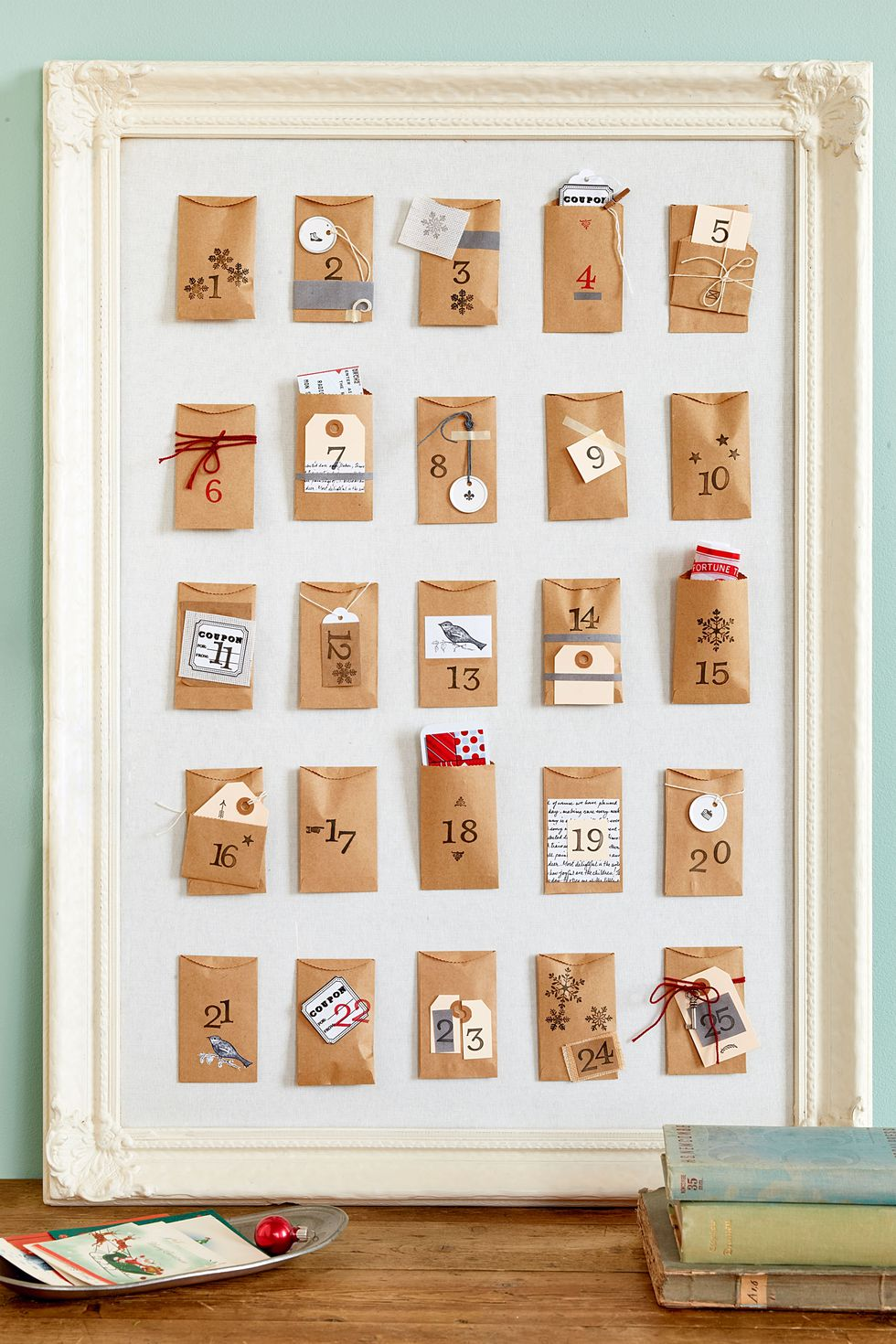 Adventskalender Basteln einfach und schnell - Tolle Ideen mit Papiertüteten
