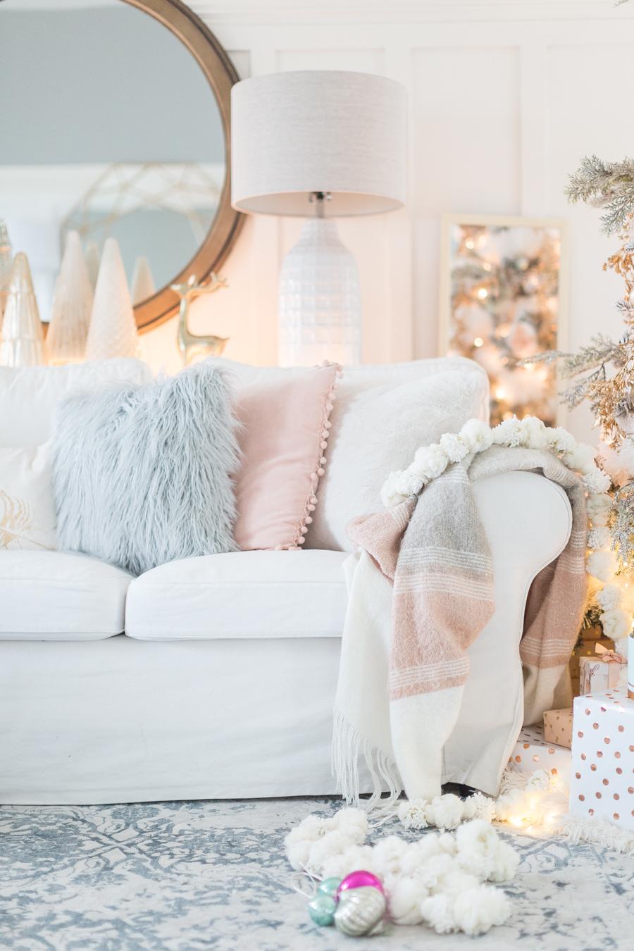 Tolle Ideen für helle Deko Weihnachten