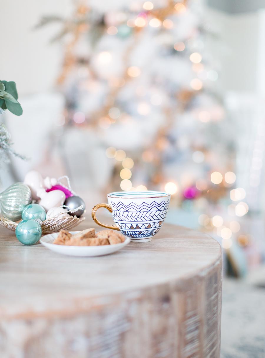 Tolle Ideen für pastellfarbene Deko Weihnachten
