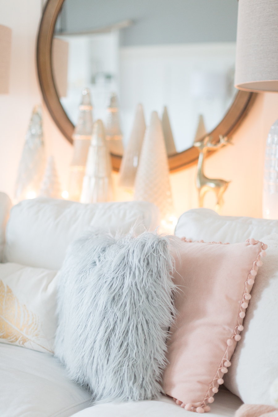 Tolle Ideen für skandinavische Deko Weihnachten im Wohnzimmer