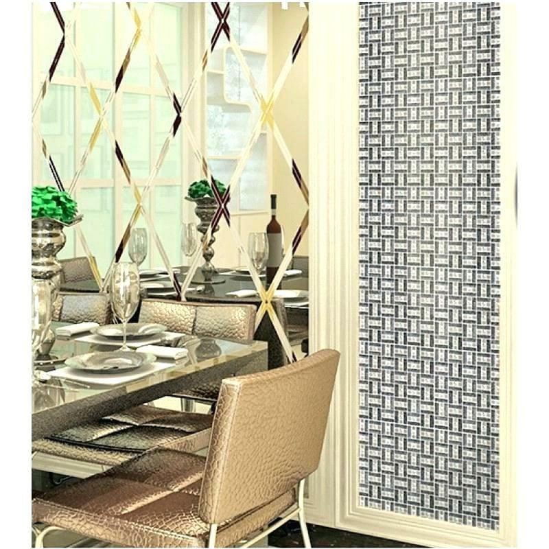 Spiegelfliesen dekorativ Essbereich