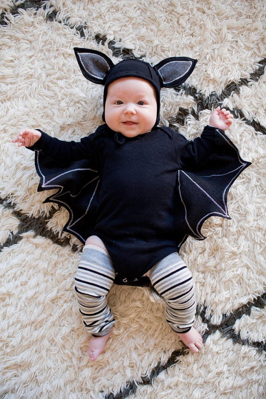 Fledermaus Halloween Kostüm fürNeugeborenes