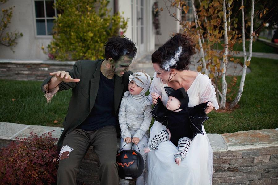 Halloween Kostüm Ideen für die ganze Familie: Plündern Sie alle Süßigkeiten am Halloween mit Stil