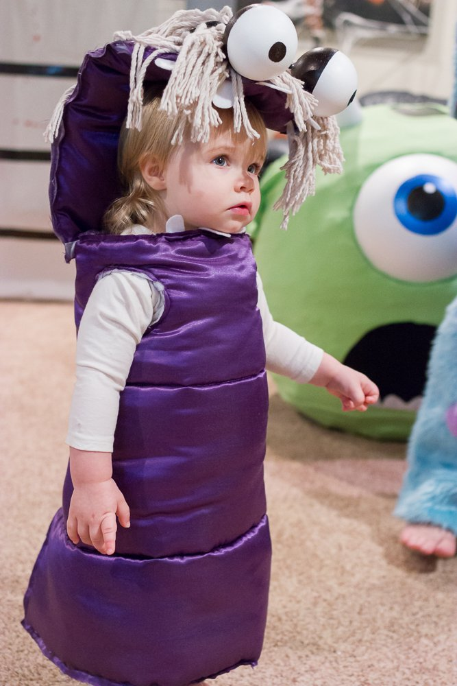 Halloween Kostüm Ideen für Mädchen: Die Monster AG