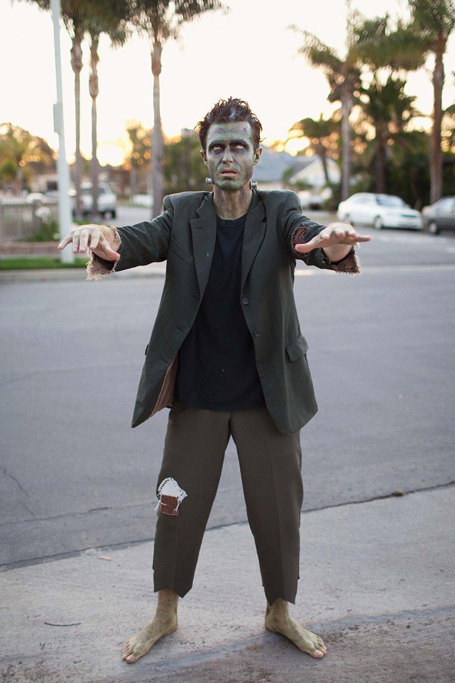 Das beste Halloween Kostüm Herren: Ein Zombie Kostüm selber machen