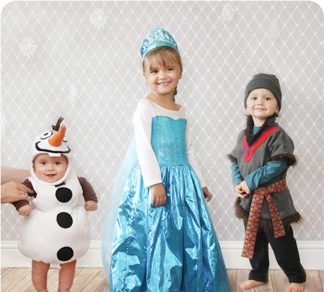 Halloween Kostüm Ideen für die Geschwister: Das beliebte Motiv aus den Kinderfilmen