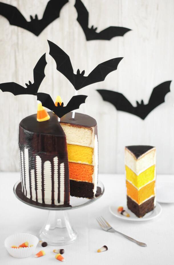 Kuchen Halloween 3 Farben